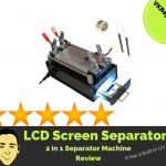 2 in 1 LCD screen separator machine
