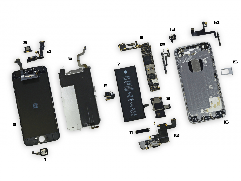 iphone replacement parts iphone 6 parts diagram 9595