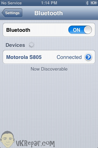 iPhone 6 cant hear caller bluetooth