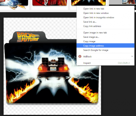 How to Customize Folder Icons back to the future folder icon