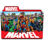 Marvel folder icon