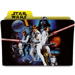 Star Wars folder icons