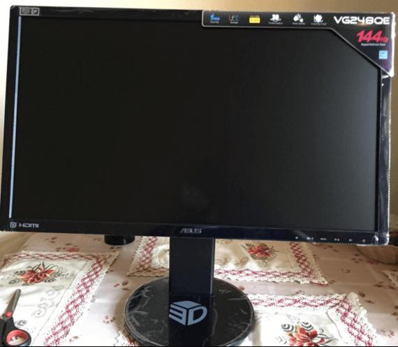 Asus VG248QE review 144hz monitors