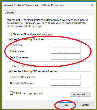 wifi doesn't have a valid ip configuration error solved