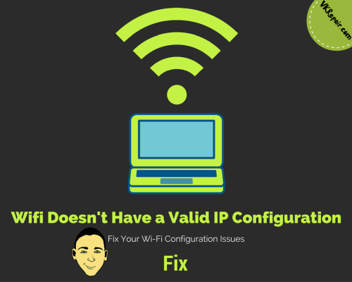 router doesnt have valid ip configuration
