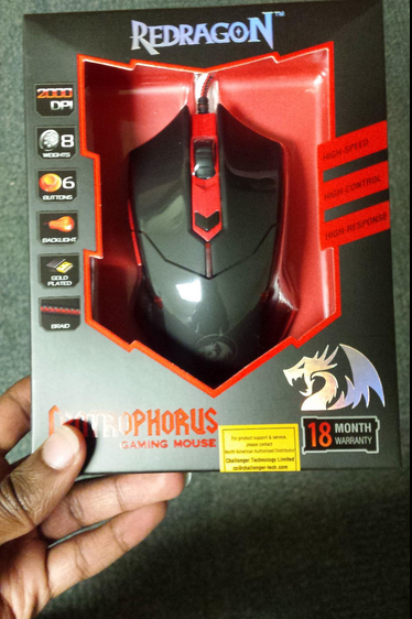Redragon M601 Centrophorus 2000 DPI Gaming Mouse