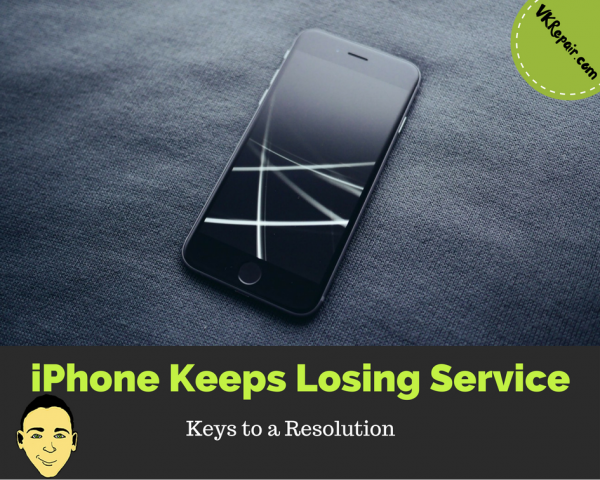 iPhone keeps losing service