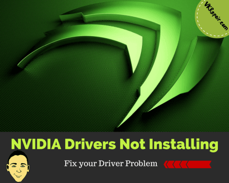 NVIDIA drivers not installing