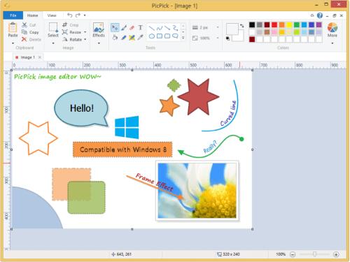 Picpick screenshot program