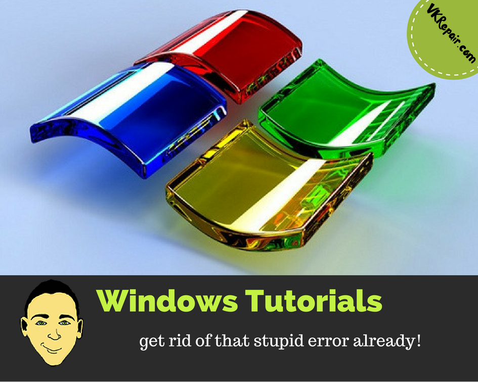 windows-tutorials