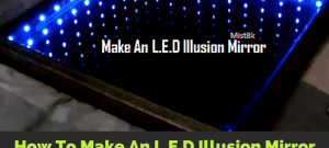 how-to-make-an-led-Illusion-mirror