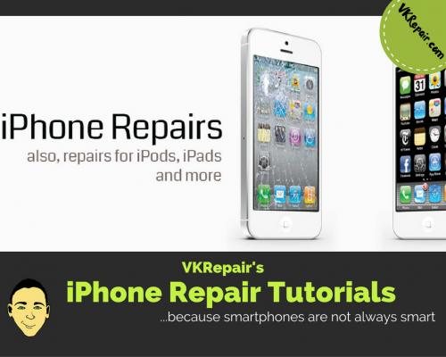 iPhone repair tutorials