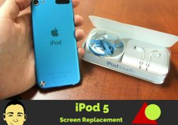 iPod 5 screen replacement tutorial