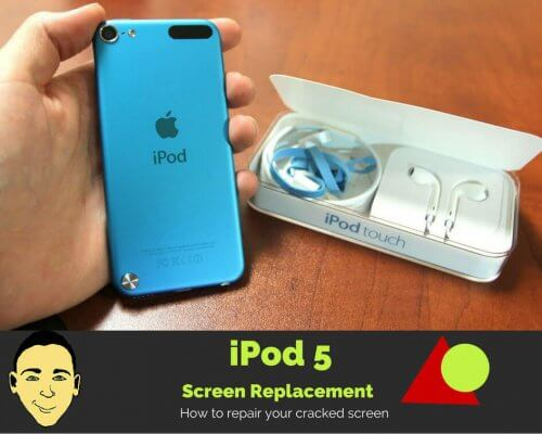 iPod 5 screen replacement
