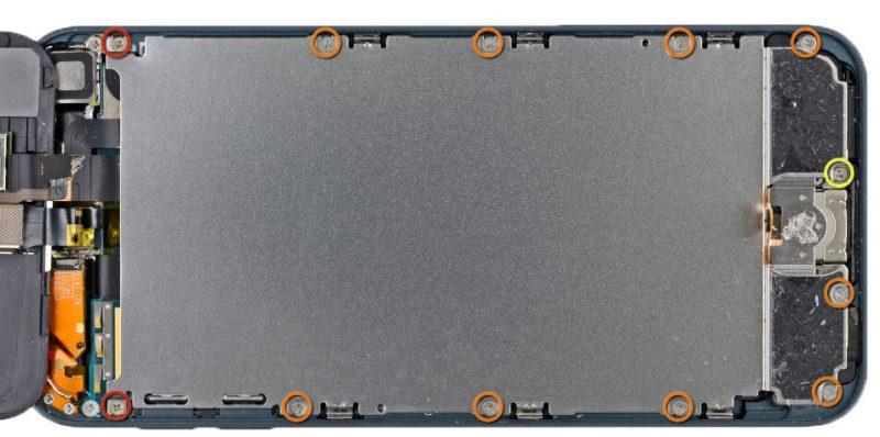 iPod 5 screws