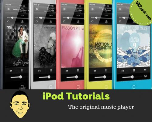 iPod tutorials