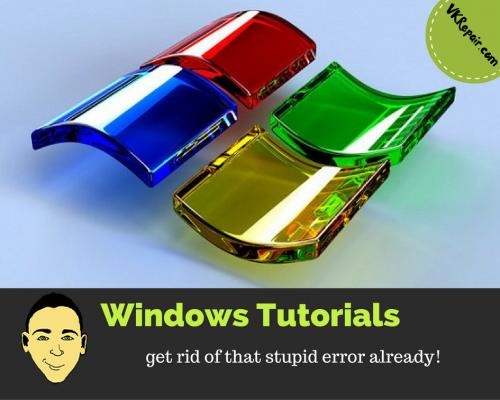 Windows tutorials