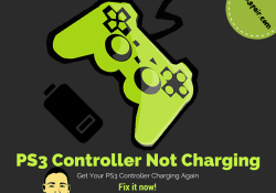PS3 controller not charging