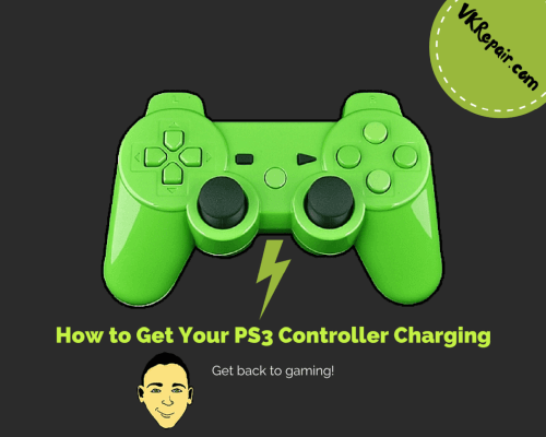 PS3 controller not charging fix