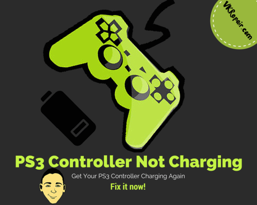 PS3 controller not charging solution guide