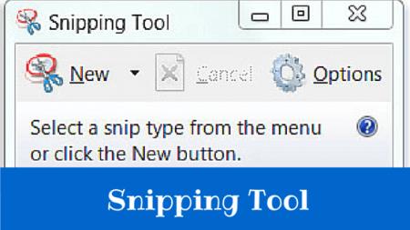 snipping tool take screenshot