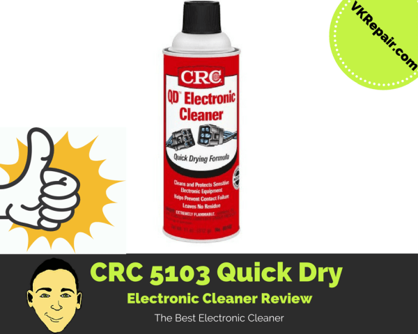 CRC 5103 quick dry electronic cleaner review