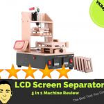 LCD screen separator removal machine