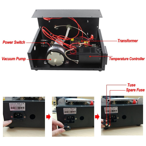 lcd screen separator machine imax