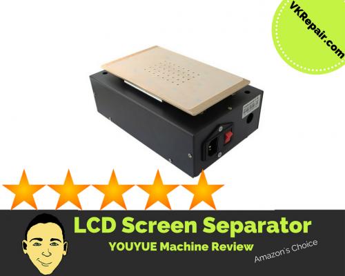 youyue lcd screen separating machine