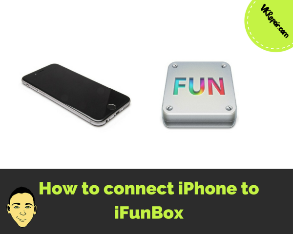 How to connect iPhone to iFunBox