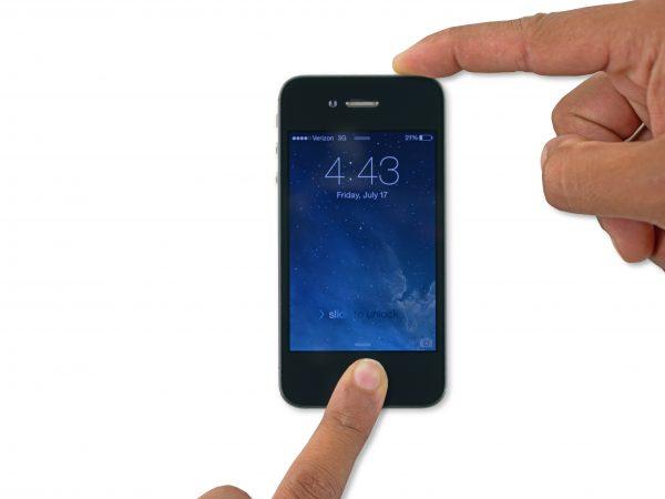 Redémarrage forcé de l'iPhone 6