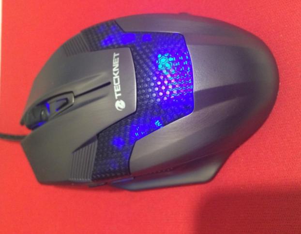 Tecknet Professional fingertip grip mouse