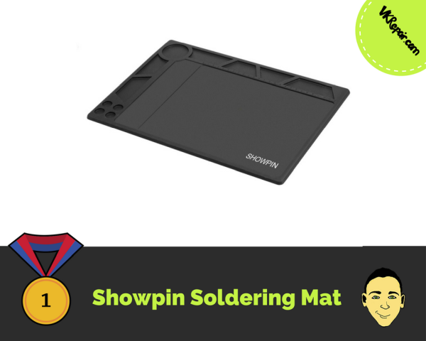 showpin soldering mat