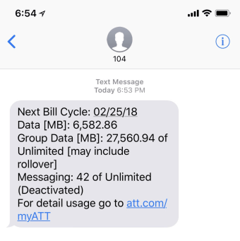 att-data-usage-text-message