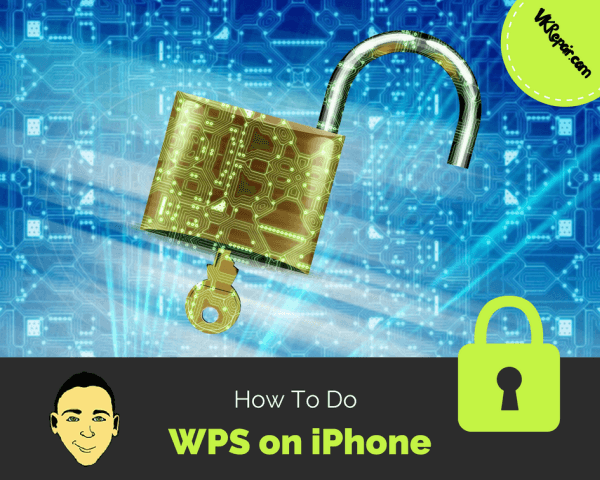 How To Do WPS on iPhone
