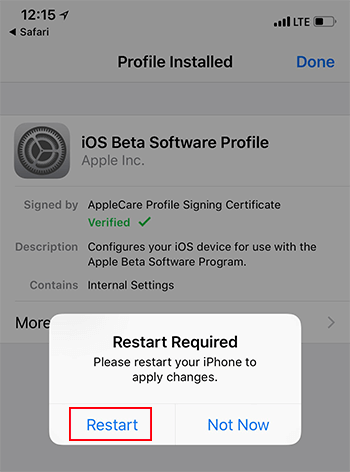 install-profile-restart-ios-11.3-beta