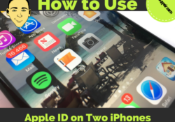 can-i-use-my-apple-id-on-two-iphones