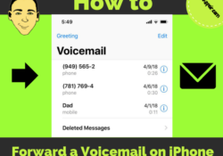how-to-forward-a-voicemail-on-iphone