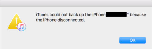 itunes-could-not-backup-the-iphone-the-iPhone-disconnected-error