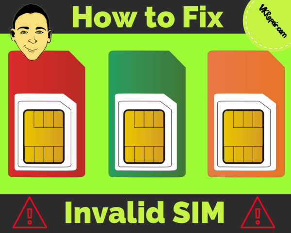 What does invalid SIM mean? AND how to fix it!
